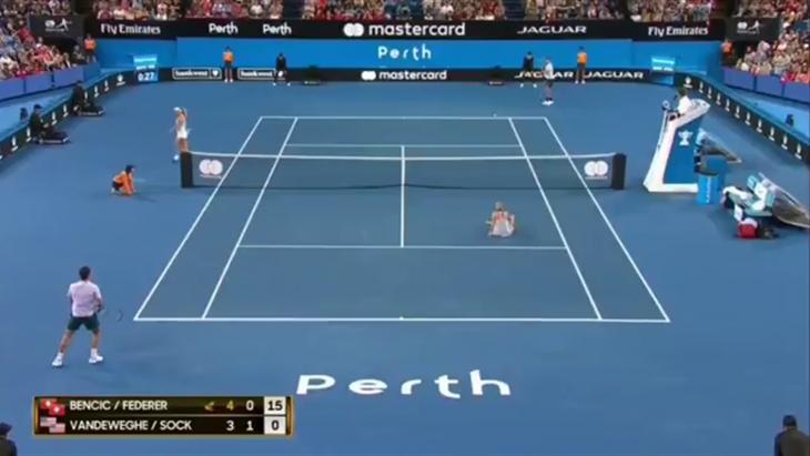 Gesto Machista de Roger Federer