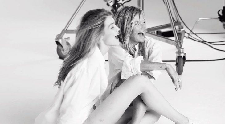 Gigi Hadid y Kate Moss juntas en una nueva campaña