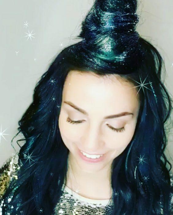 Glitterage nueva tendencia que está conquistando en Instagram