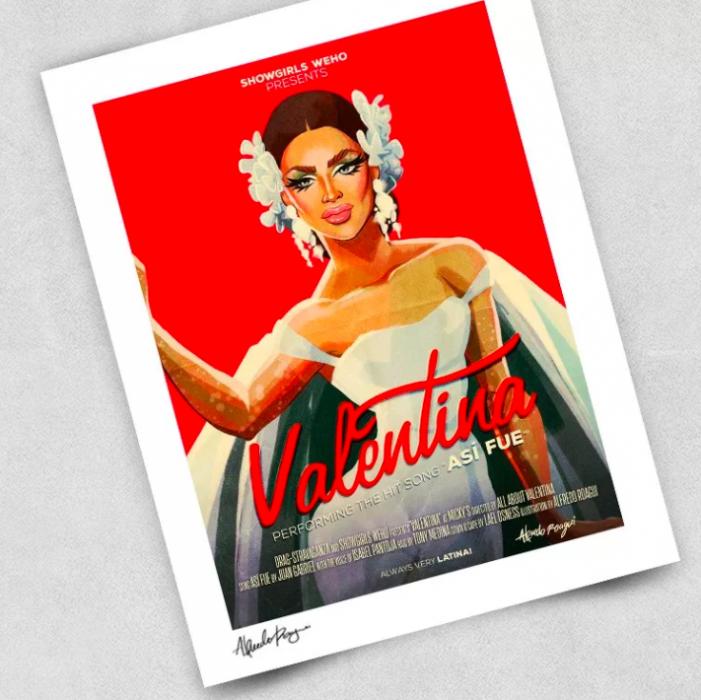 Ilustraciones que ha creado un mexicano para RuPauls Drag Race
