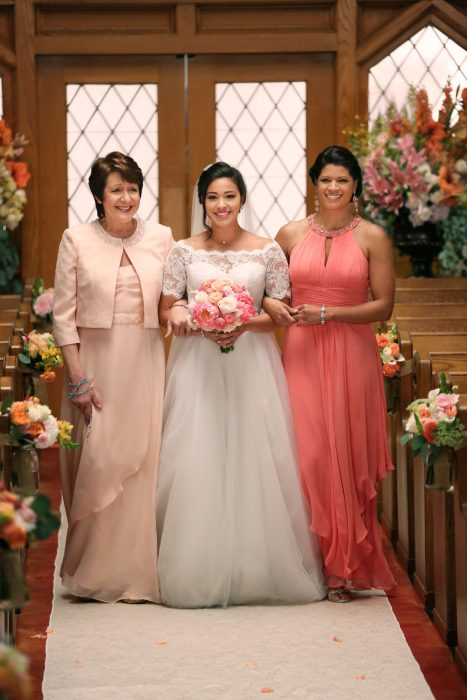 vestido de novia de jane the virgin
