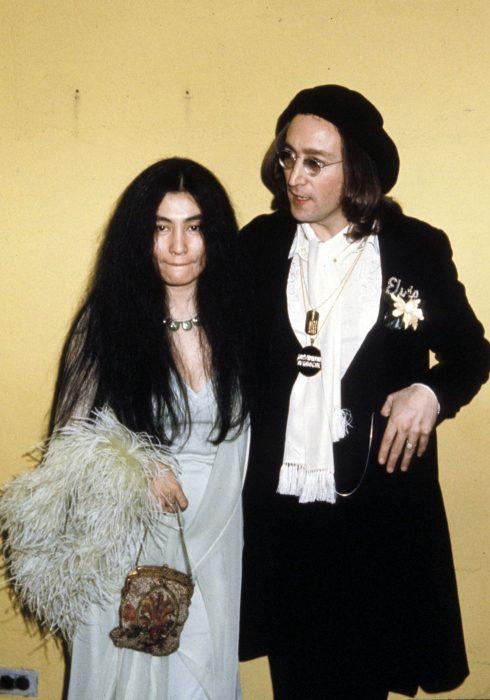 John Lennon y Yoko 1975 Grammy