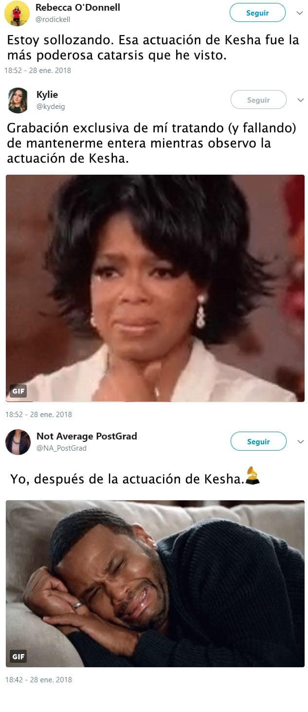 Kesha tuits
