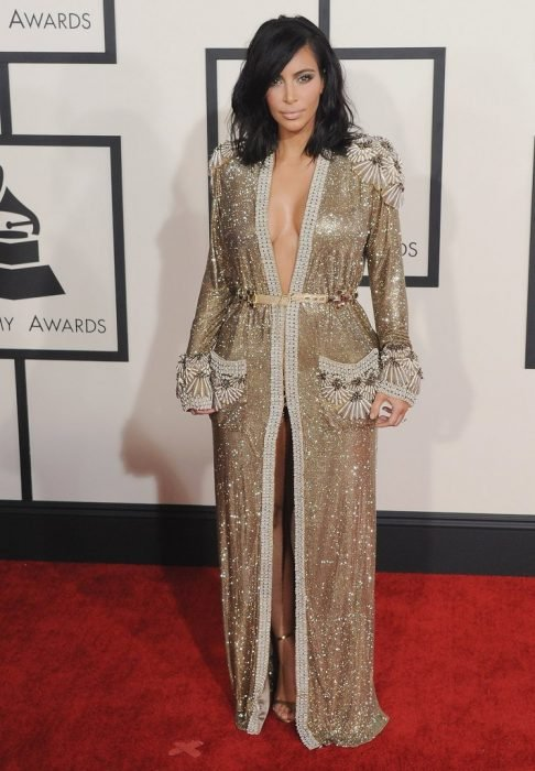 Kim Kardashian Jean Paul Gaultier 2015