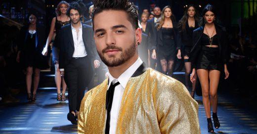 Maluma participa en la pasarela de Dolce & Gabbana en Milán