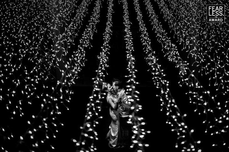 campo de luces