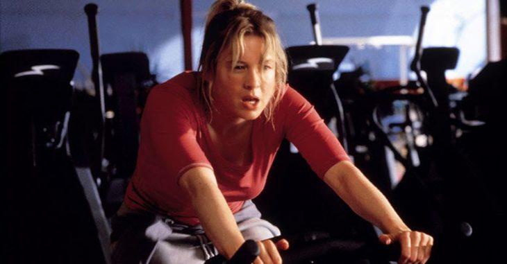 chica en el gym