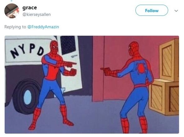 meme de spider man