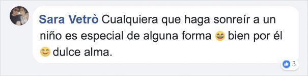 mensaje en Facebook