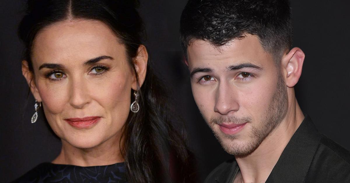 Nick Jonas es la nueva conquista de Demi Moore