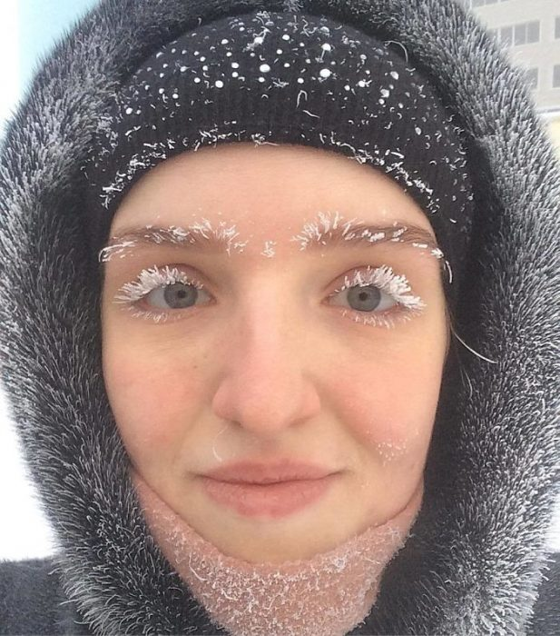 chica congelada