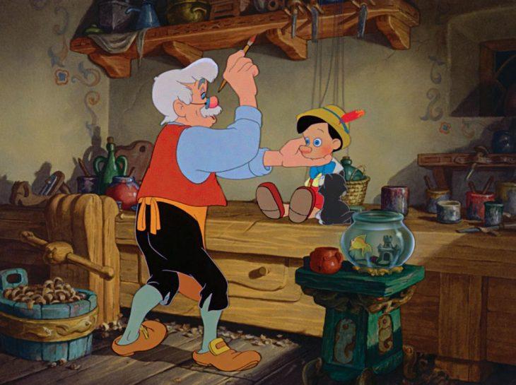 Escena de la película Pinocho