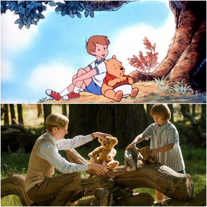 Escena de Winnie Pooh