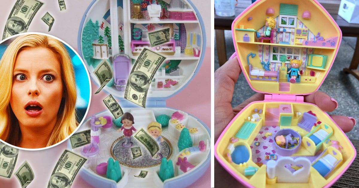 Si en el baúl de tus recuerdos aún guardas tus Polly Pocket podrías hacerte millonaria
