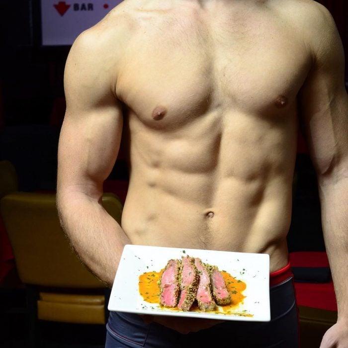 abdomen de chico