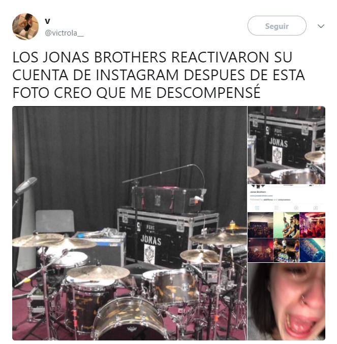 Reacciones en twitter sobre el encuentro de los jonas brothers