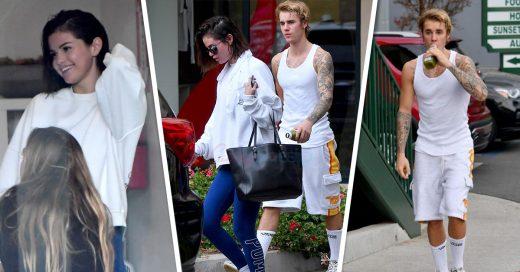 Selena Gomez y Justin Bieber comienzan el año practicando yoga y lucen felices
