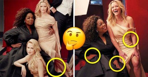 Al parecer Reese Witherspoon tiene tres piernas para Vanity Fair