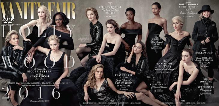 Portada de la revista Vanity Fair del 2017