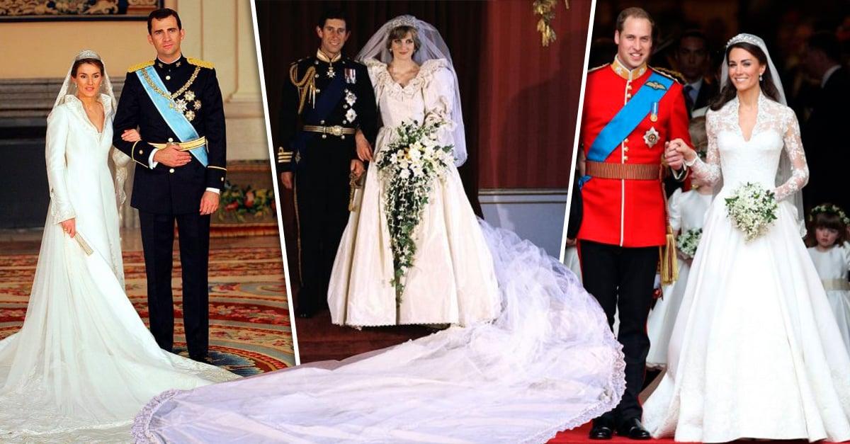 ba0b22d24 20 Vestidos de novia de la realeza más icónicos y bellos