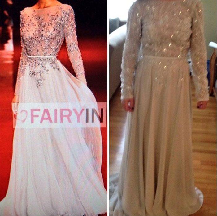 comparación de vestidos