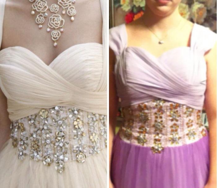 comparativo de vestidos