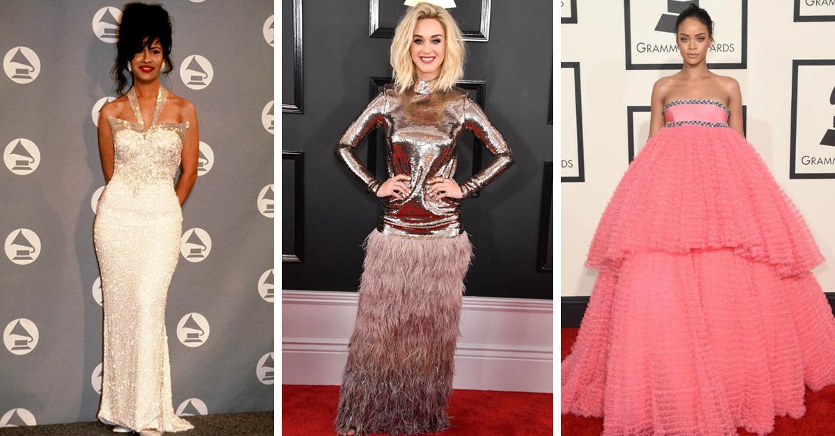 Los 25 Vestidos más memorables de los Grammy