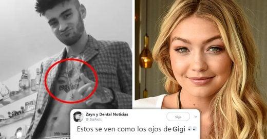 Zayn Malik se tatuó los ojos de Gigi Hadid en el pecho e Internet no sabe cómo reaccionar