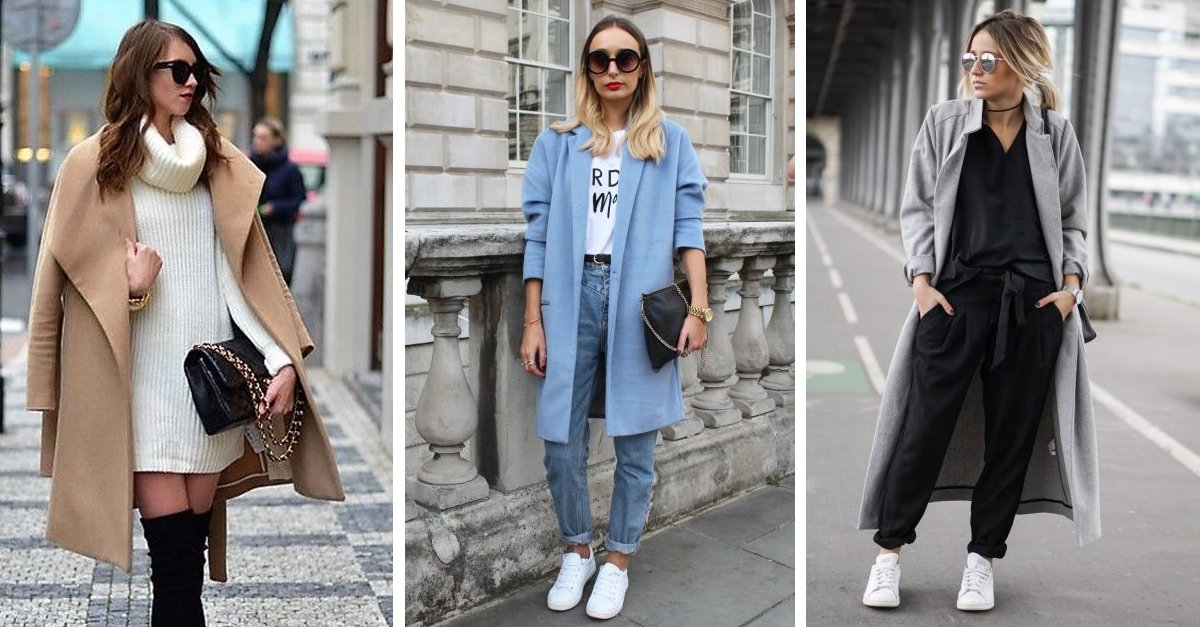 6 Maneras en las que puedes usar el abrigo oversized de tu madre