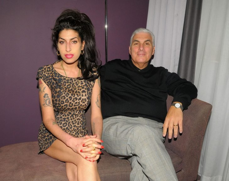 amy winehouse y su padre