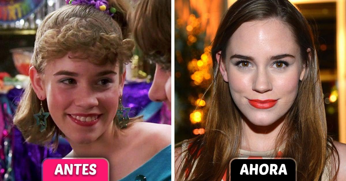 El antes y después de los protagonistas de Si tuviera 30