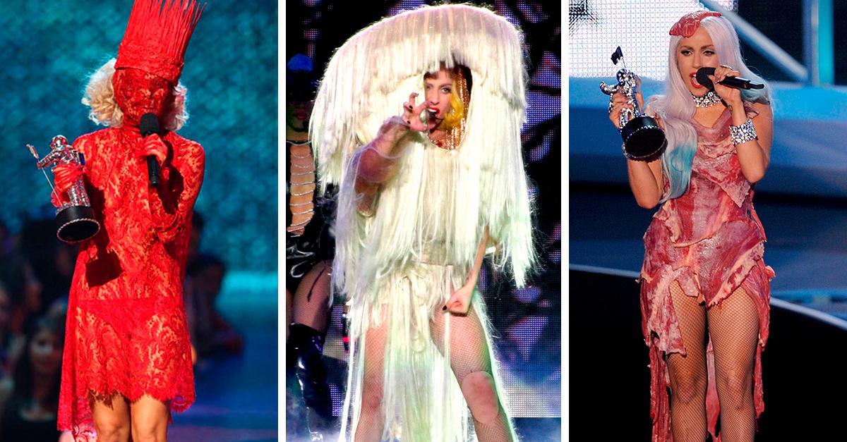 20 Outfits que Lady Gaga que nos dejaron con la boca abierta