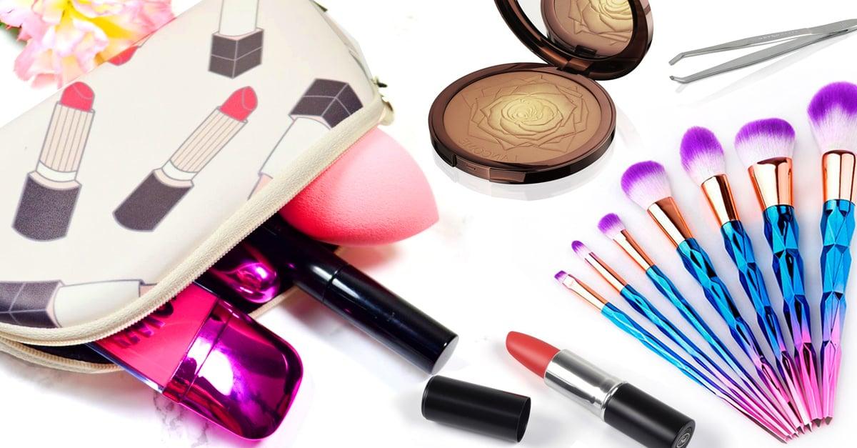 15 Básicos de maquillaje que debes llevar en tu bolso; retoca tu estilo en cualquier lugar