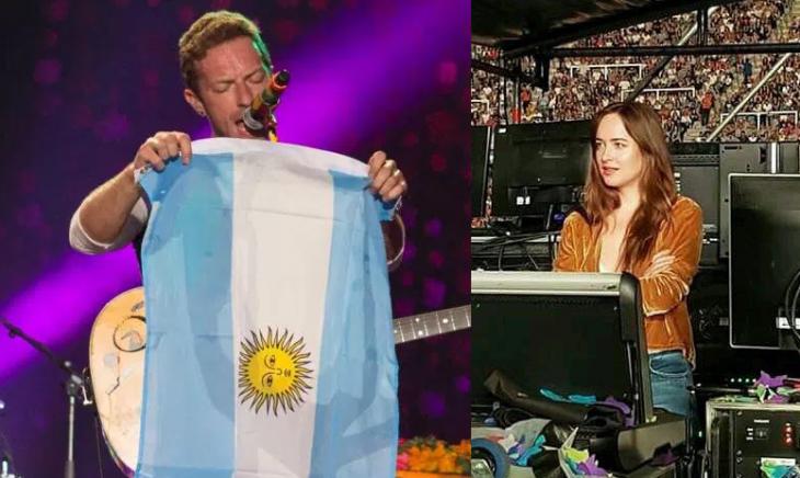 chris martin y dakota en argentina