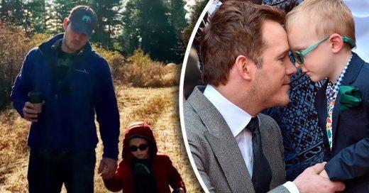 Chris Pratt comparte un conmovedor video en el que admite que extraña a su hijo