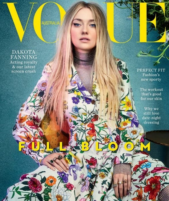dakota fanning vogue australia