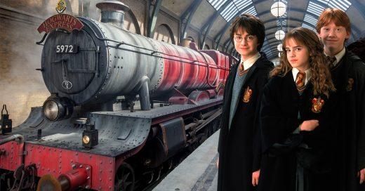¡Llamando a todos los muggles!; el expreso de Hogwarts está recorriendo el mundo entero