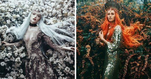 Este fotógrafo convirtió a mujeres comunes en princesas; el resultado te hará creer en los cuento de hadas