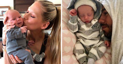 Enrique Iglesias y Anna Kournikova presumieron las primeras fotos de sus gemelos