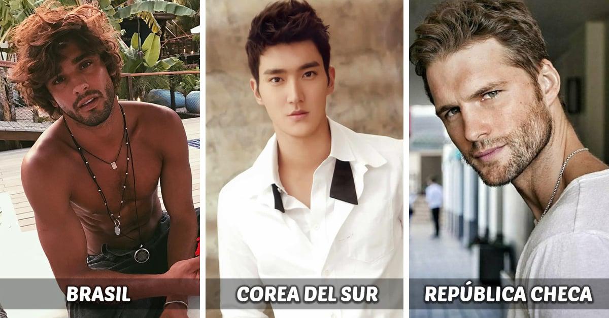 15 Países donde los hombres guapos son el centro de atención