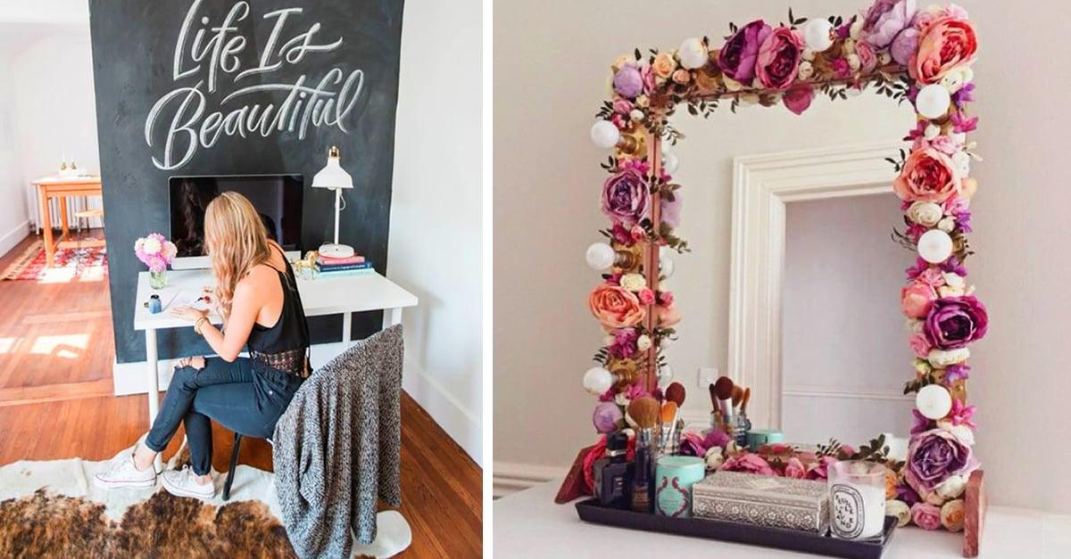 15 trucos para renovar tu habitaci n sin gastar tus ahorros for Ideas para decorar una recamara