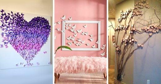 25 dise os que har n inspirarte para decorar tu habitaci n for Como hacer decoraciones para tu cuarto