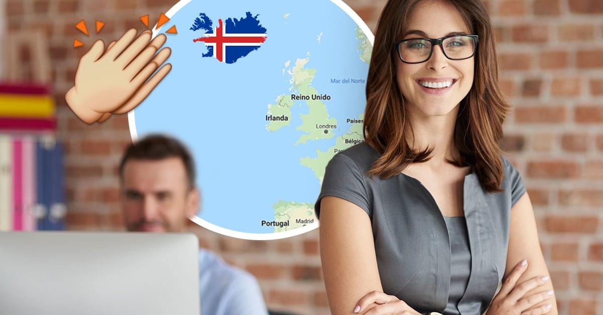 Islandia se convierte en el primer país en eliminar la brecha de sueldos entre generos