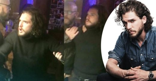 Kit Harington fue captado ebrio y escandalizando un bar de Nueva York
