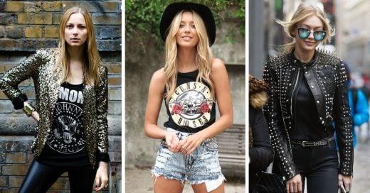15 Trucos para conseguir un estilo glam rock; obtén el look perfecto para cada concierto