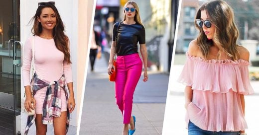 10 Looks que te inspirarán a usar el color rosa