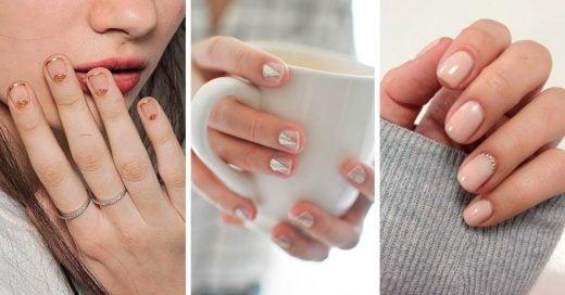 20 Ideas para pintarte las uñas para ir a la escuela