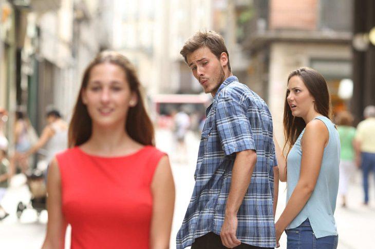 meme del hombre no leal