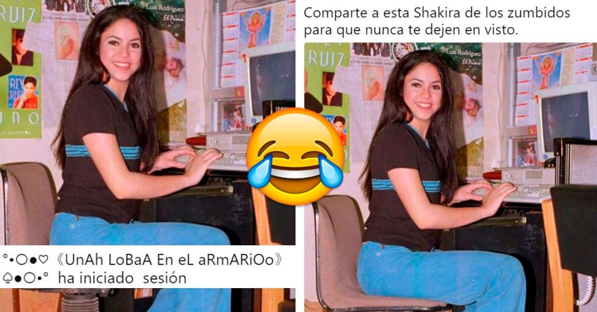 La foto de Shakira en los noventa que se convirtió en el meme del momento