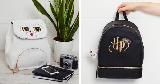Será inevitable no sentirte atraía a estas mochilas de Harry Potter